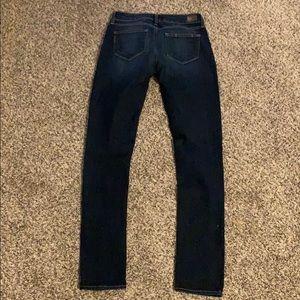 Paige denim peg skinny jeans 26